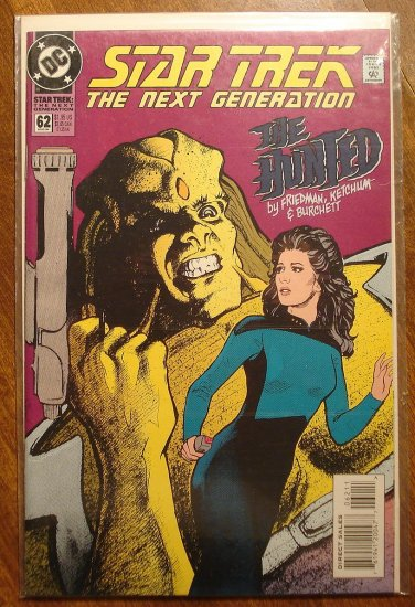 Star Trek: The Next Generation #62 comic book - DC Comics