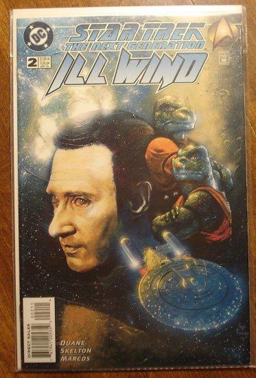 Star Trek: The Next Generation - Ill Wind #2 comic book - DC Comics