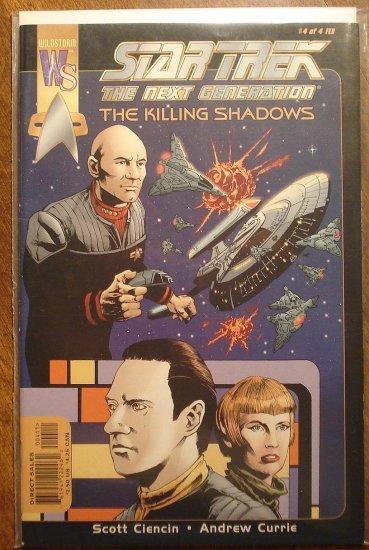 Star Trek: The Next Generation - The Killing Shadows #4 comic book - Wildstorm Comics