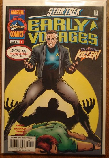 Star Trek: Early Voyages #8 comic book - Marvel Comics