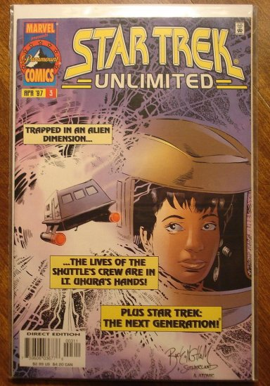 Star Trek Unlimited #3 comic book - Marvel Comics