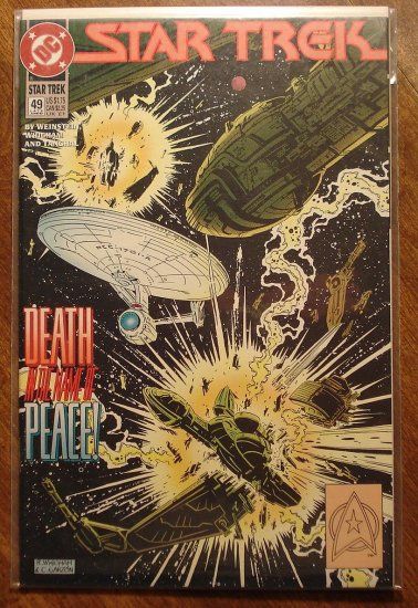 Star Trek #49 comic book  - DC Comics