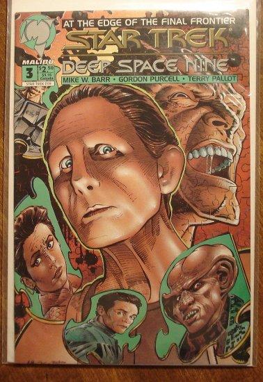 Malibu Comics Star Trek: Deep Space Nine (DS9) #3 comic book
