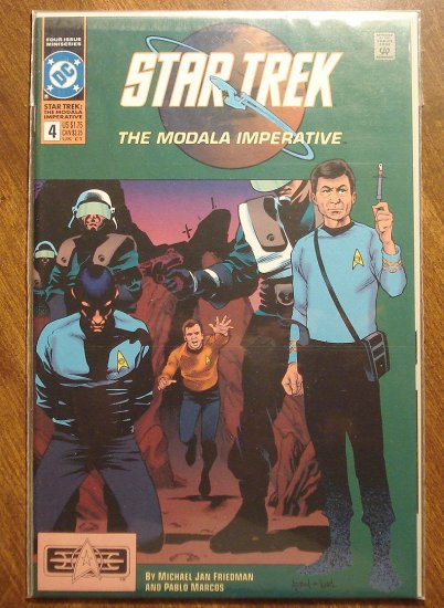 Star Trek: The Modala Imperative #4 comic book  - DC Comics
