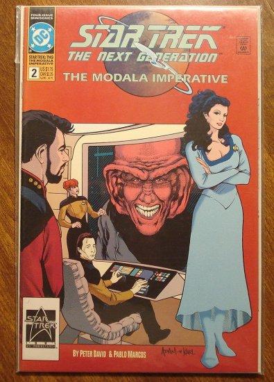 Star Trek: The Modala Imperative #2 comic book  - DC Comics
