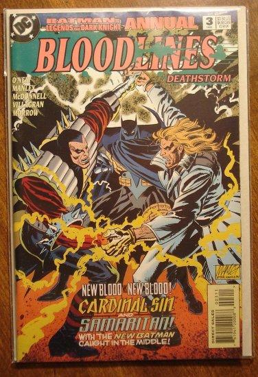 Batman Legends of the Dark Knight Annual #3 comic book - DC Comics