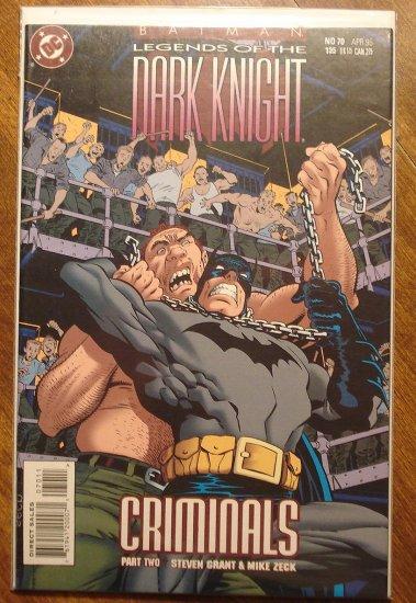 Batman Legends of the Dark Knight #70 comic book - DC Comics