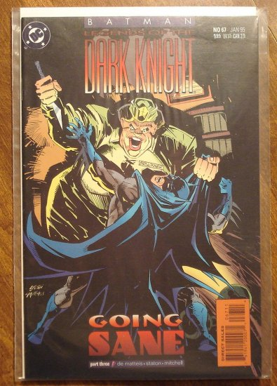 Batman Legends of the Dark Knight #67 comic book - DC Comics