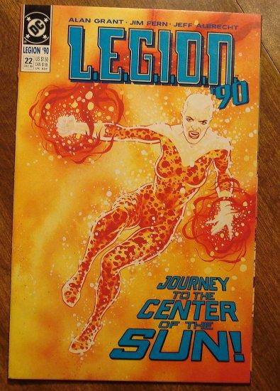 L.E.G.I.O.N. '90 #22 comic book - DC Comics, Legion of Super-Heroes, LSH