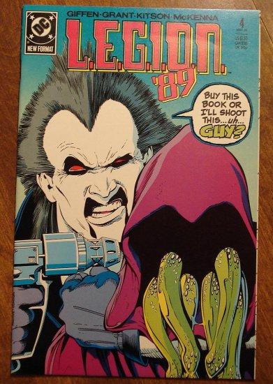L.E.G.I.O.N. '89 #4 comic book - DC Comics, Legion of Super-Heroes, LSH