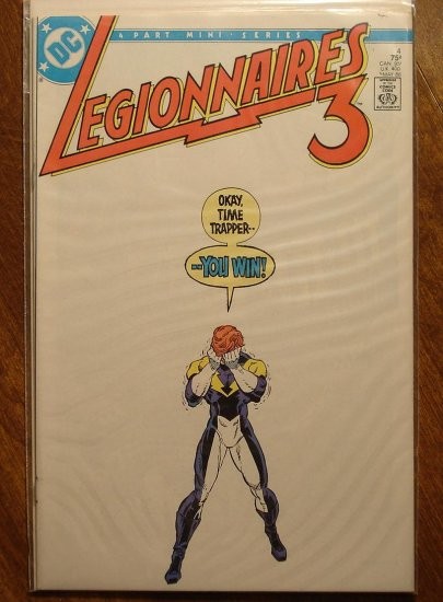 Legionnaires 3 #4 (mini-series) comic book - DC Comics, Legion of Super-Heroes, LSH