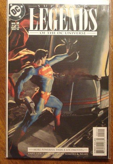 Legends of the DC Universe: Superman #2 comic book - DC Comics