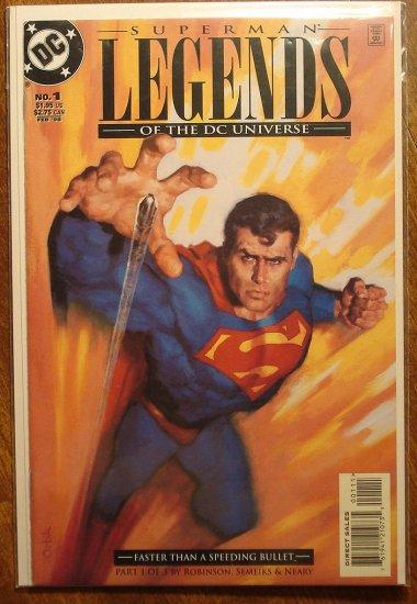 Legends of the DC Universe: Superman #1 comic book - DC Comics