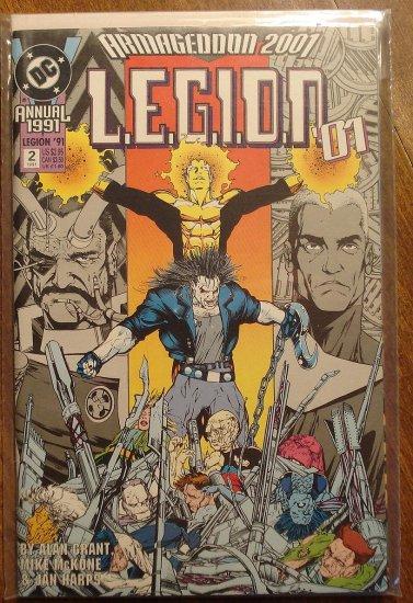 L.E.G.I.O.N. Annual #2 comic book - DC Comics, Legion of Super-Heroes, LSH