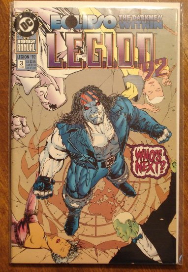 L.E.G.I.O.N. Annual #3 comic book - DC Comics, Legion of Super-Heroes, LSH