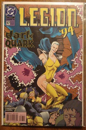 L.E.G.I.O.N. '94 #67 comic book - DC Comics, Legion of Super-Heroes, LSH