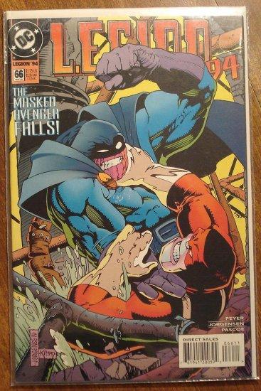 L.E.G.I.O.N. '94 #66 comic book - DC Comics, Legion of Super-Heroes, LSH