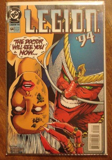 L.E.G.I.O.N. '94 #64 comic book - DC Comics, Legion of Super-Heroes, LSH