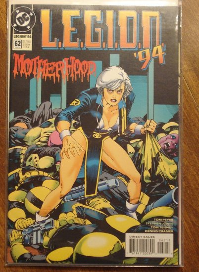 L.E.G.I.O.N. '94 #62 comic book - DC Comics, Legion of Super-Heroes, LSH