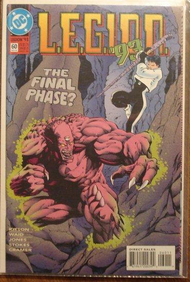 L.E.G.I.O.N. '93 #60 comic book - DC Comics, Legion of Super-Heroes, LSH