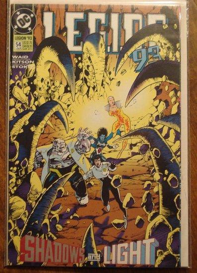 L.E.G.I.O.N. '93 #54 comic book - DC Comics, Legion of Super-Heroes, LSH
