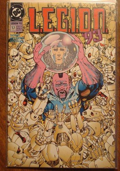 L.E.G.I.O.N. '93 #53 comic book - DC Comics, Legion of Super-Heroes, LSH