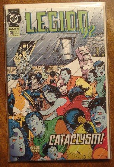L.E.G.I.O.N. '92 #45 comic book - DC Comics, Legion of Super-Heroes, LSH