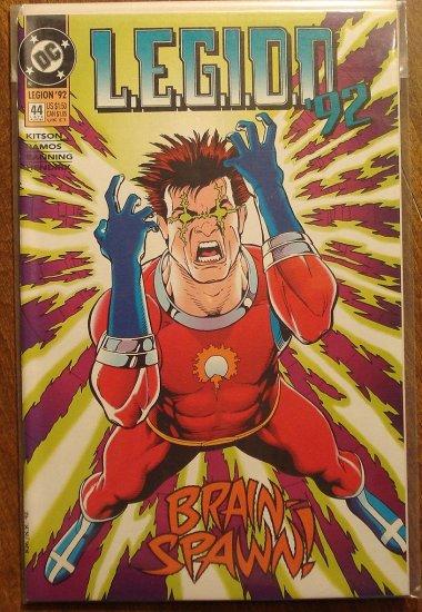 L.E.G.I.O.N. '92 #44 comic book - DC Comics, Legion of Super-Heroes, LSH