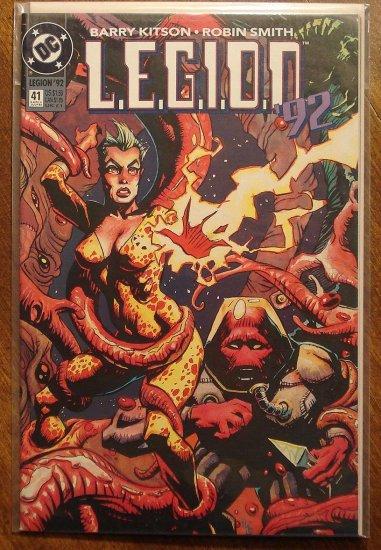 L.E.G.I.O.N. '92 #41 comic book - DC Comics, Legion of Super-Heroes, LSH