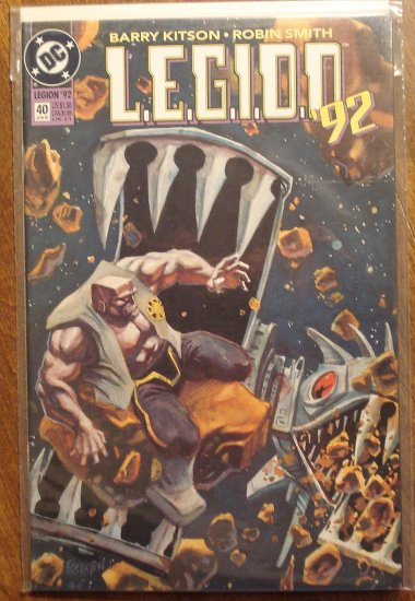 L.E.G.I.O.N. '92 #40 comic book - DC Comics, Legion of Super-Heroes, LSH