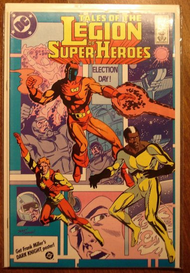 Legion of Super-Heroes #335 comic book - DC Comics, LSH, (Formally Superboy & the...)
