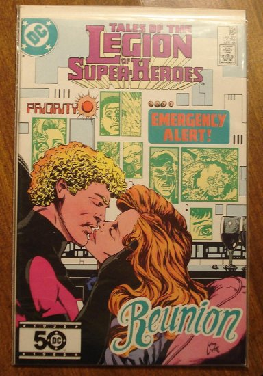 Legion of Super-Heroes #334 comic book - DC Comics, LSH, (Formally Superboy & the...)