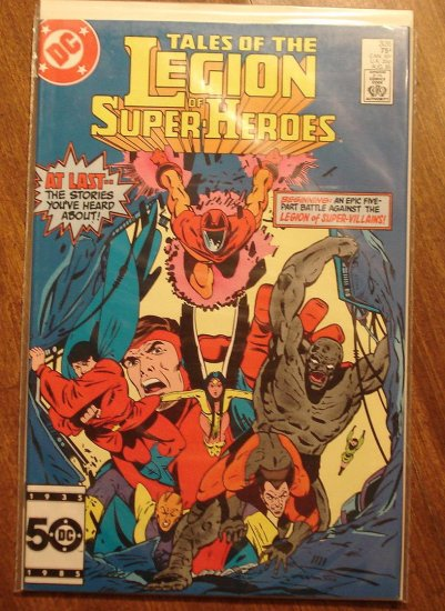Legion of Super-Heroes #326 comic book - DC Comics, LSH, (Formally Superboy & the...)