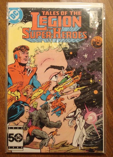 Legion of Super-Heroes #325 comic book - DC Comics, LSH, (Formally Superboy & the...)