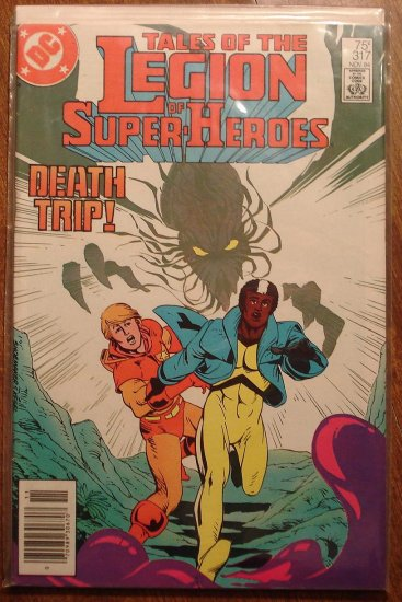 Legion of Super-Heroes #317 comic book - DC Comics, LSH, (Formally Superboy & the...)
