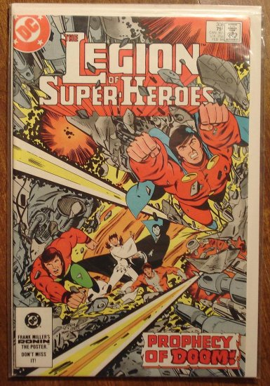 Legion of Super-Heroes #308 comic book - DC Comics, LSH, (Formally Superboy & the...)