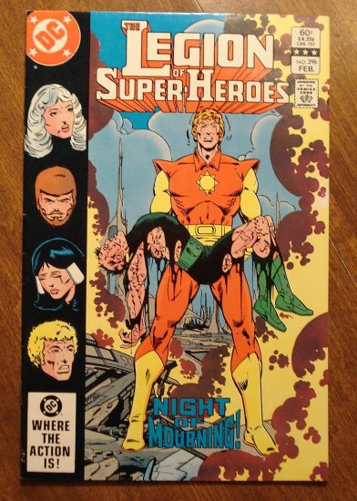Legion of Super-Heroes #296 comic book - DC Comics, LSH, (Formally Superboy & the...)