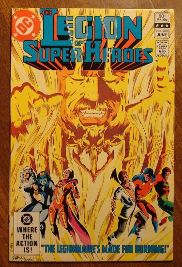 Legion of Super-Heroes #288 comic book - DC Comics, LSH, (Formally Superboy & the...)