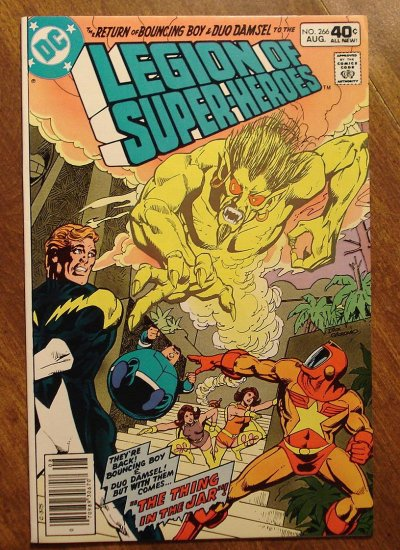 Legion of Super-Heroes #266 comic book - DC Comics, LSH, (Formally Superboy & the...)