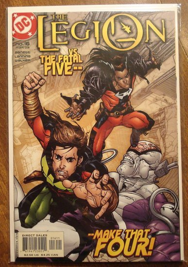 The Legion #16 (2000's) comic book - DC Comics, LSH, Legion of Super-Heroes