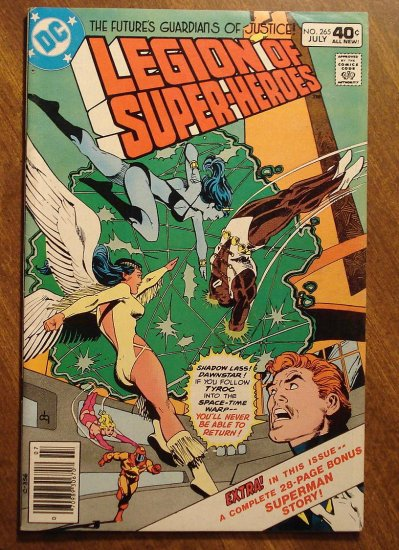 Legion of Super-Heroes #265 comic book - DC Comics, LSH, (Formally Superboy & the...)