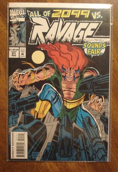 Ravage 2099 #21 comic book - Marvel Comics