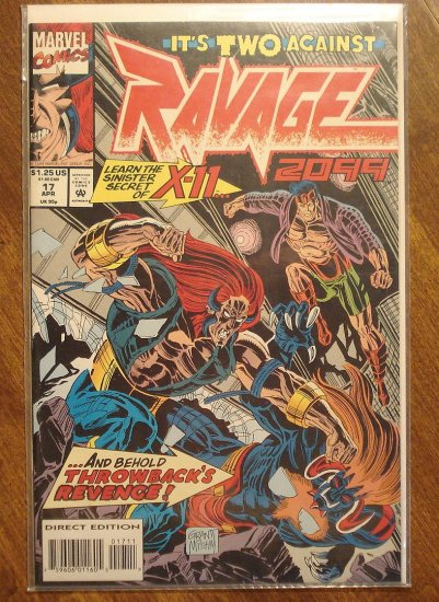 Ravage 2099 #17 comic book - Marvel Comics