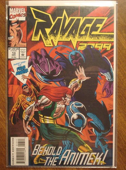 Ravage 2099 #13 comic book - Marvel Comics
