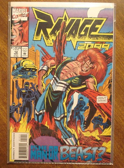 Ravage 2099 #12 comic book - Marvel Comics