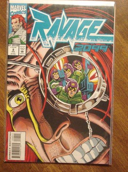 Ravage 2099 #8 comic book - Marvel Comics