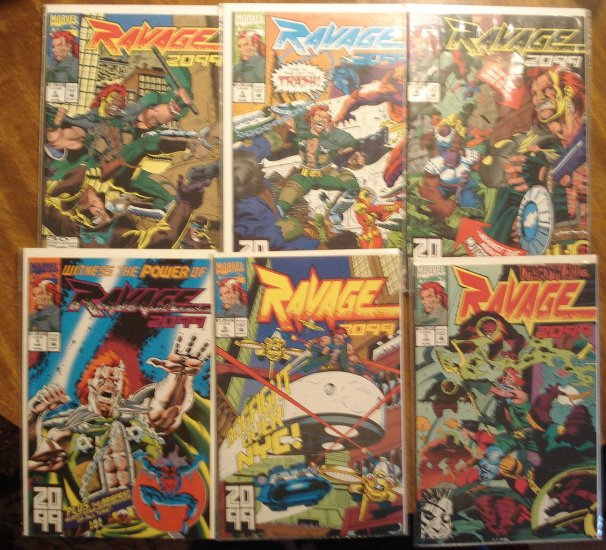 Ravage 2099 lot #'s 2, 3, 4, 5, 6, 7, 8, 9, 10, 11, 12, 13, 14, 17, 18, 19, 20 comic book - all NM/M