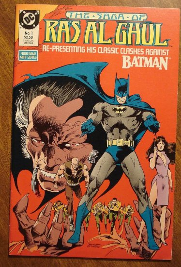 DC Comics - Batman: The Saga of Ras Al Ghul #1 comic book NM/M, Neal Adams art