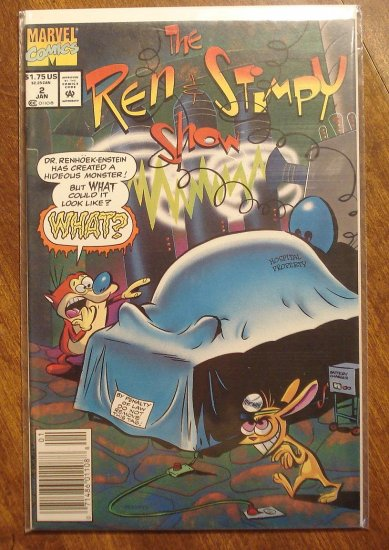 The Ren & Stimpy Show #2 comic book - Marvel Comics