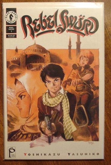 Rebel Sword #2 comic book - Dark Horse Comics, manga